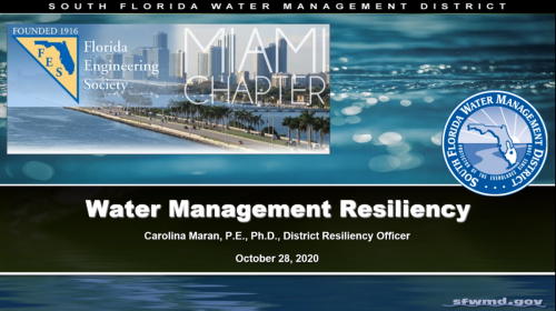 Water Management Resiliency